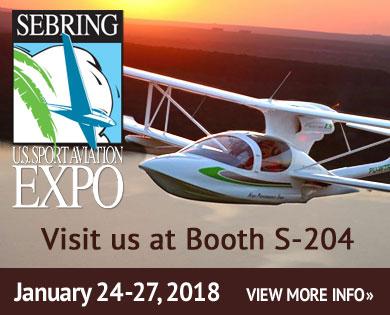 sebring aviation expo features super petrel usa