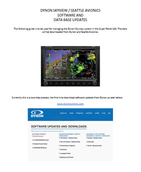 DYNON SKYVIEW DATA UPDATES